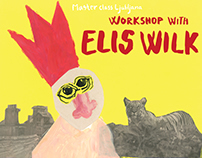 Poster design for Elis Wilk workshop