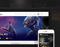 Kinopark - Website Redesign