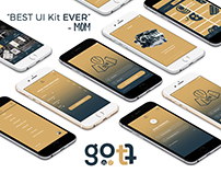Gott UI Kit - 90+ iOS screens for Sketch