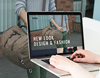 REEN Fashion Boutique Landing Page