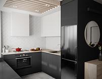 proste nowoczesne mieszkanie / simple modern flat