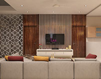 Rendered Drawing Room