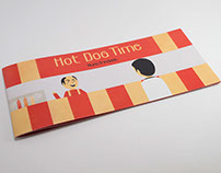 Hot Dog Time - Picture Book
