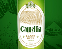 Camellia Green Tea Beer - Branding & Packaging Design