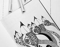 Bird Illustration series