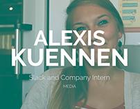 SaC intern Alexis