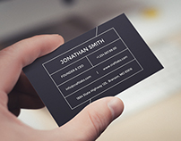 Simple Modern Business Card