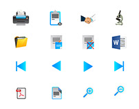 Icons for medical Application