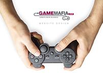 Game Mafia Website Design