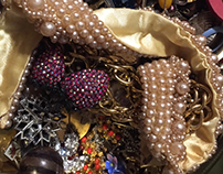 SCULPTURE   Costume Jewelry