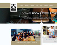 Books for a Cause Web Design