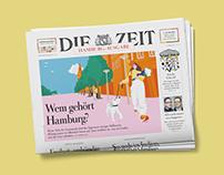 Cover Illustration DIE ZEIT