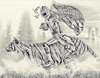 Riding on a Tiger: by Brett Gemas