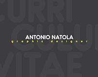 Curriculum Vitae - Antonio Natola