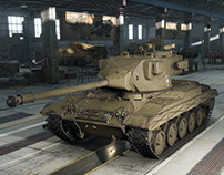 World of tanks T37 tank