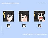 Emotes I: Twitch Emotes & Facebook Stickers