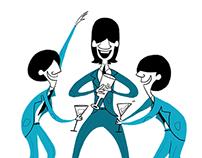 Beatles in modern cartoon