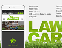 Lawn Care Services Website Theme