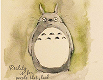 Card and Poster for My naighbor Totoro