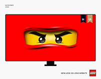 Lego — New Website 2020