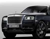 Rolls-Royce Cullinan Black Chrome