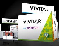Sakar & Vivitar Trade Show Exhibit and Advertising