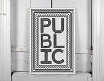 Public Bike Poster