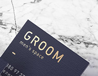 Groom, a personal care parlour for men