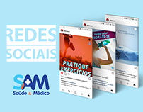 Social Media - Clínica SAM