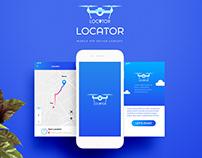 Locator Mobile App Design Concept