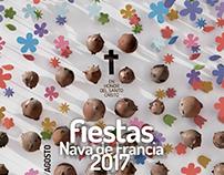 Poster Nava de Francia - Fiestas 2017