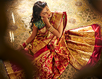 The Myntra Saree store...