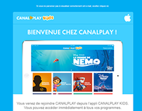 Welcome Email - Canalplay Kids