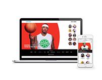 Viacom For All Fankind Campaign: Website & Digital Ads