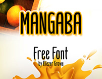 "Free Font ""Mangaba"""