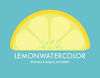LemonWatercolor Icon Design