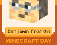 Collectable Minecraft Day Scientist Trading Cards