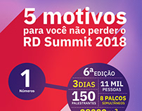 Infográfico RD Summid 2018