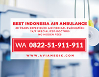 WA 0822-51-911-911 - Air Ambulance Indonesia