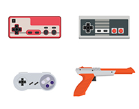 Game Consoles Evolution (2015)