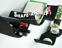 SHAPE-A-SHELF Shape your flexible shelf into anything!