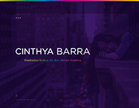 Cinthya Barra - Web Site