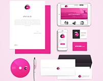 Brand identity suite for creative agency
