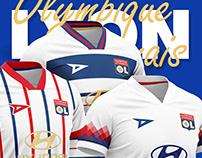 7 Football Kits - Olympique Lyonnais