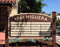 1264 Higuera Directory Monument