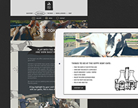 Website Design :: The Gippy Goat Cafe