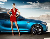 Gigi Hadid for BMW