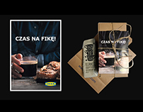 PR action for IKEA. Cinnamon Roll Day in Warsaw, Poland