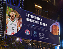 """LITHUANIAN HERITAGE NIGHT"" plakatas"
