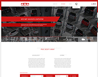 Taggart Car Rental website design